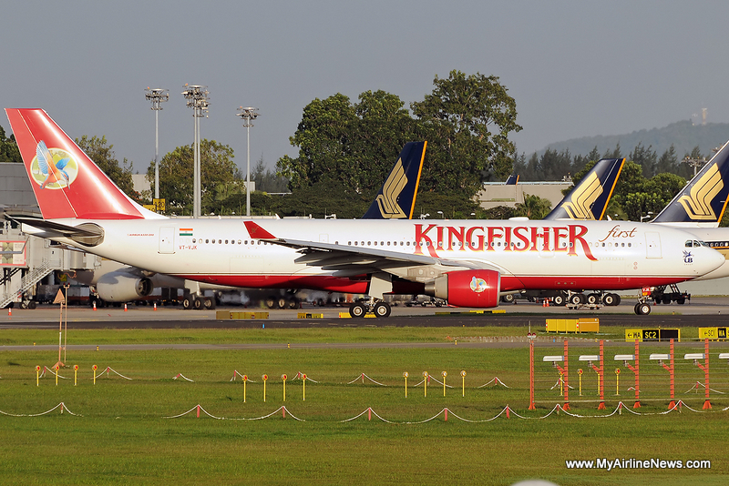 Kingfisher airlines a330